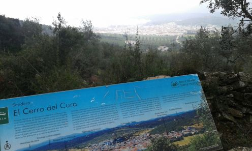 Vista del Alanis desde el cerro