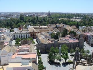 Vistas desde La Giralda y Catedral